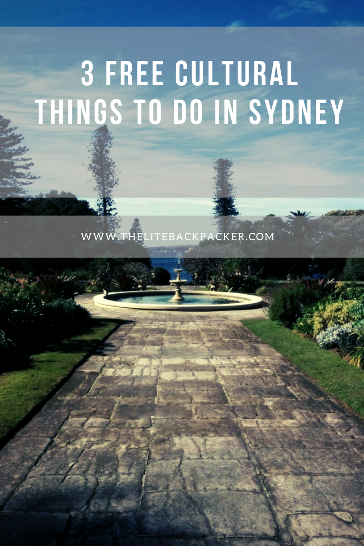 3 Free Cultural Things to do in Sydney