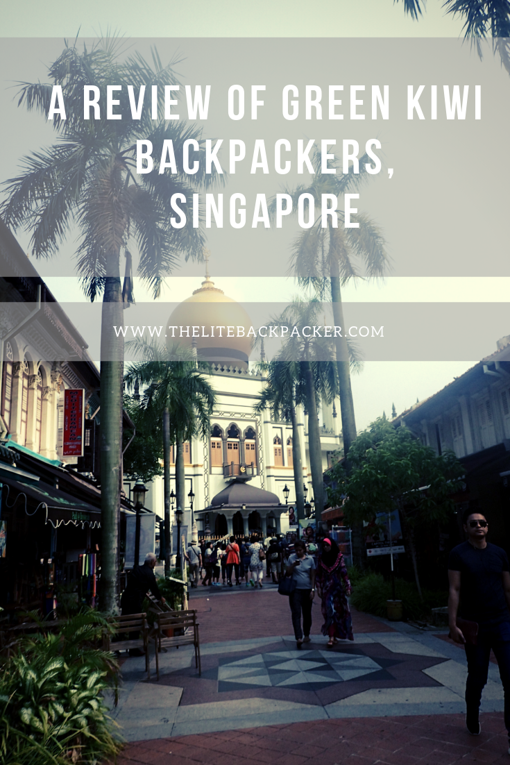 Green Kiwi Backpackers Hostel, Singapore - Review