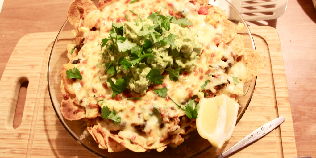 Vegetarian Nachos - perfect for that night in!
