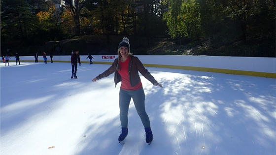 Ice Skating in Central Park - New York. A dream come true.