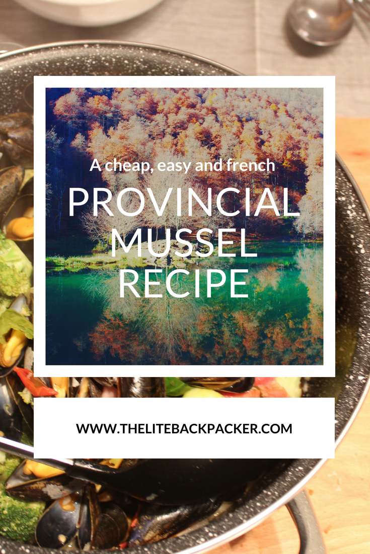 French Provincial Vegetables and Mussels Recipe