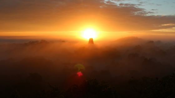 Sunrise is definitely my favourite way to see Tikal the ancient Mayan Ruin - can't recommend it enough