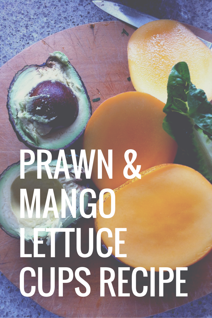 Australian Prawn and Mango Lettuce Cups Recipe