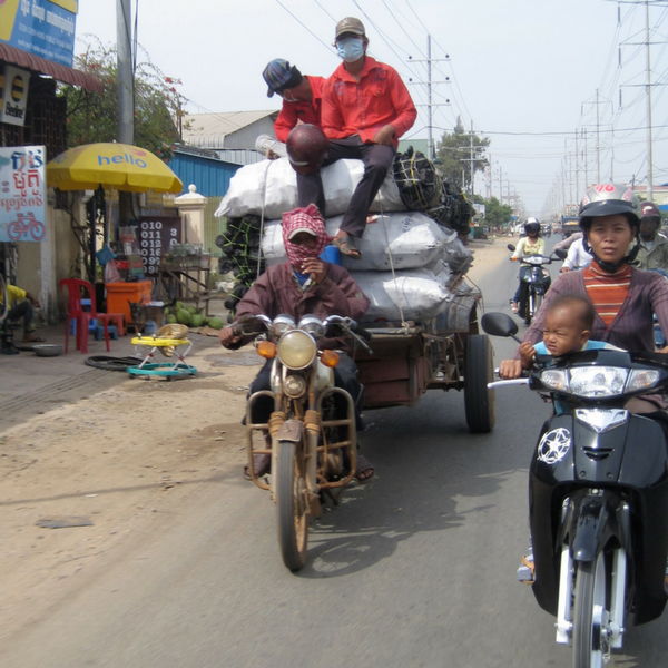 Riding a Moto in South East Asia 1