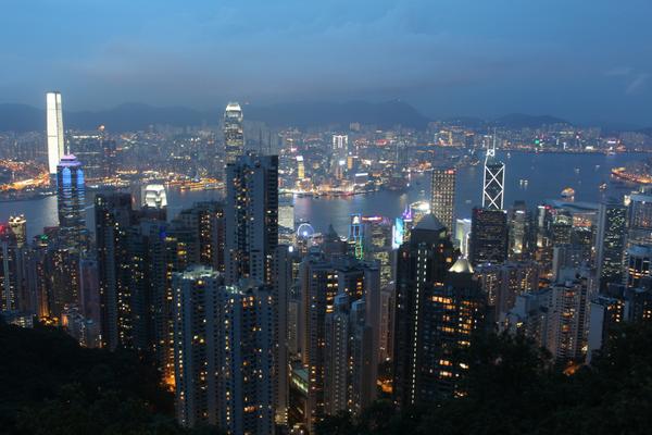 Hong Kong Climb Victoria Peak 1