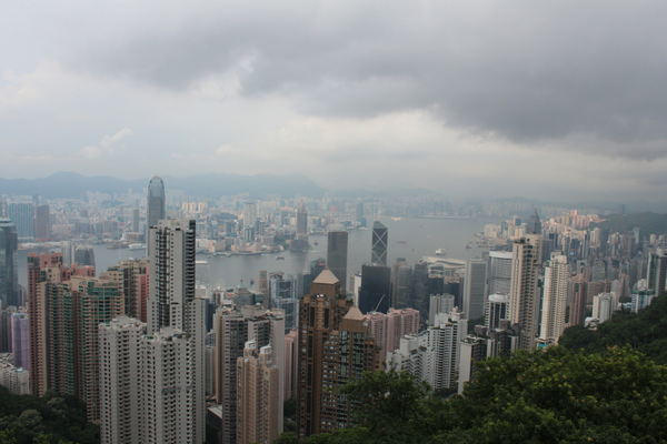 Hong Kong Climb Victoria Peak