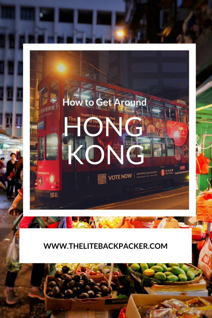 A Day in Hong Kong: How to get around Hong Kong