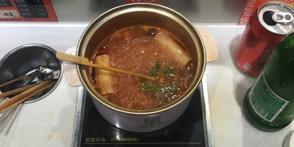 What to eat in Xi'an - Hot Pot Train
