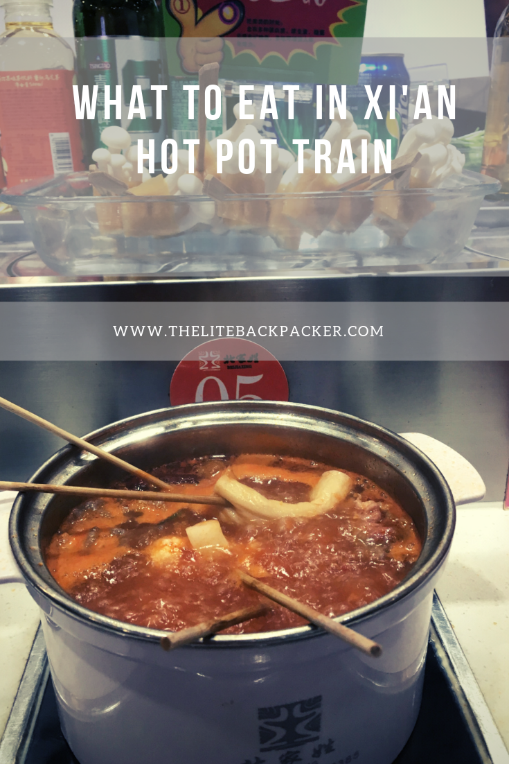 What to eat in Xi'an – Hot Pot Train